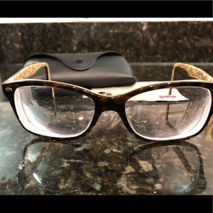 Rayban glasses frames and case